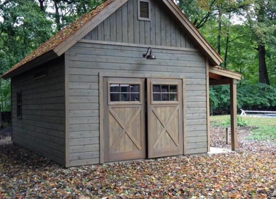 14' x 24' Montcrest Garage | Garrison, NY| Summerwood