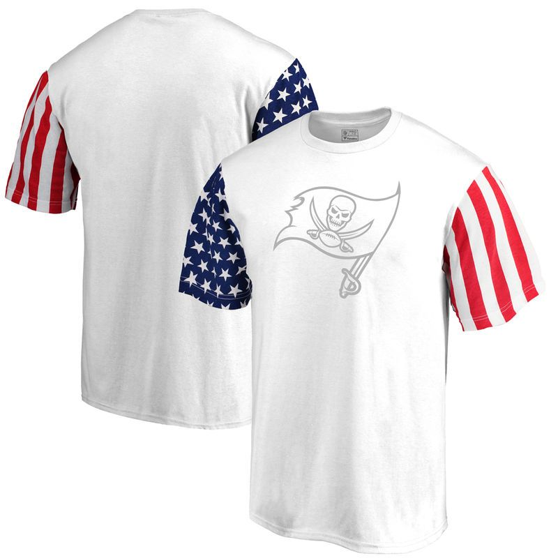 Tampa Bay Buccaneers NFL Pro Line by Fanatics Branded Stars   Stripes T- Shirt - 6cc3ca571
