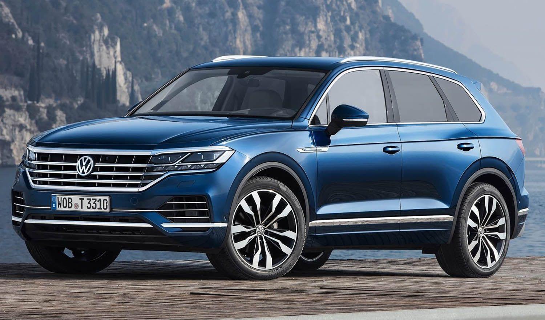 فولكس واغن ستكشف عن تصميم وشعار علامتها الجديدين للجمهور خلال المعرض الدولي للسيارات موقع ويلز Volkswagen Touareg Volkswagen Vw Cars