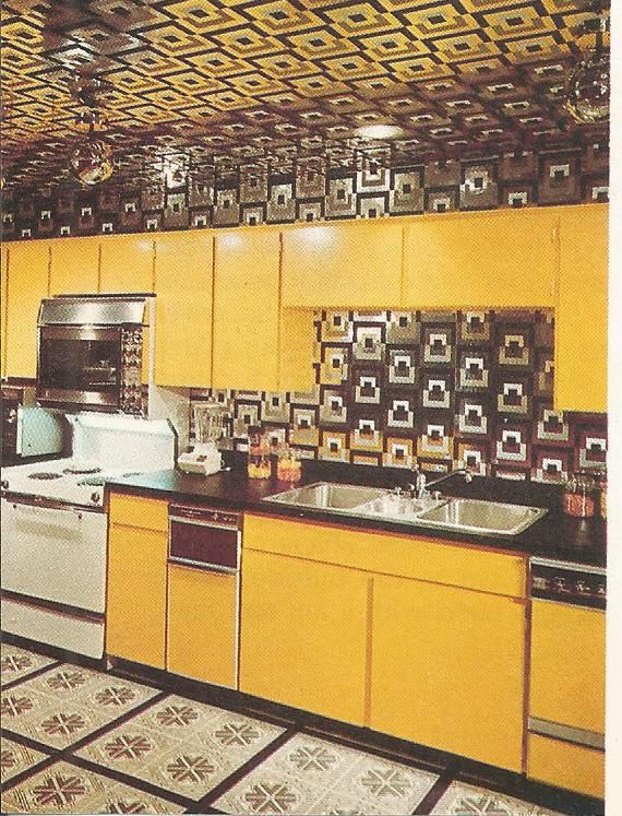 The 70 000 Dream Kitchen Makeover: Vintage Home Decor, 1970s Kitchens