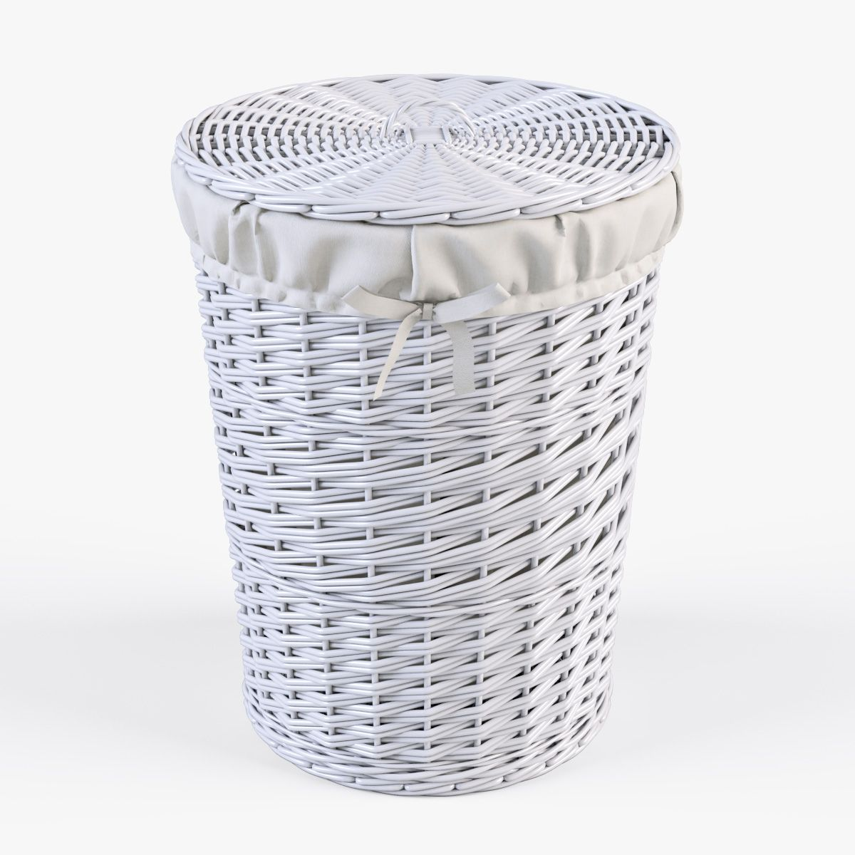 Wicker Laundry Basket 03 Set 3 Color Basket Laundry Wicker