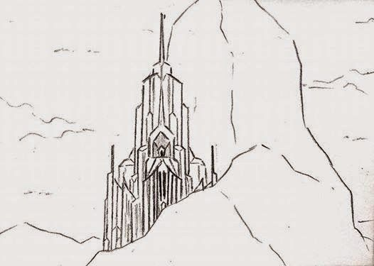 Frozen Castle Coloring Pages Free And Printable Castle Sketch
