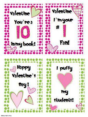 Valentine S Day Cards Freebie Valentine Day Cards