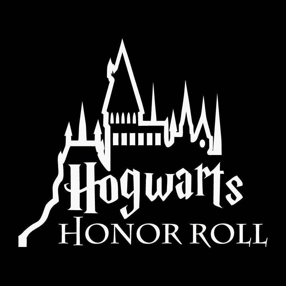 hogwarts honor roll decal sticker by vaultvinylgraphics on etsy harry potter merchandise. Black Bedroom Furniture Sets. Home Design Ideas