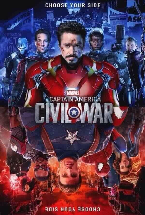 Captain America Civil War Fan Made Posteres De Filmes