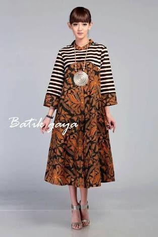 Image result for model dress batik big size  batik  Pinterest