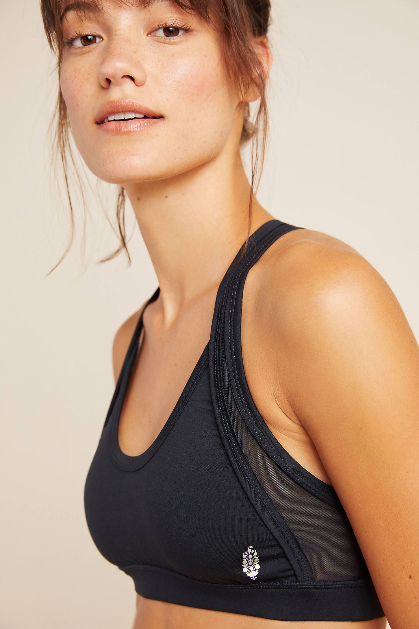 Free People Movement Out Of Your League Sports Bra by in Pink Size: L, Women's Activewear at Anthropologie