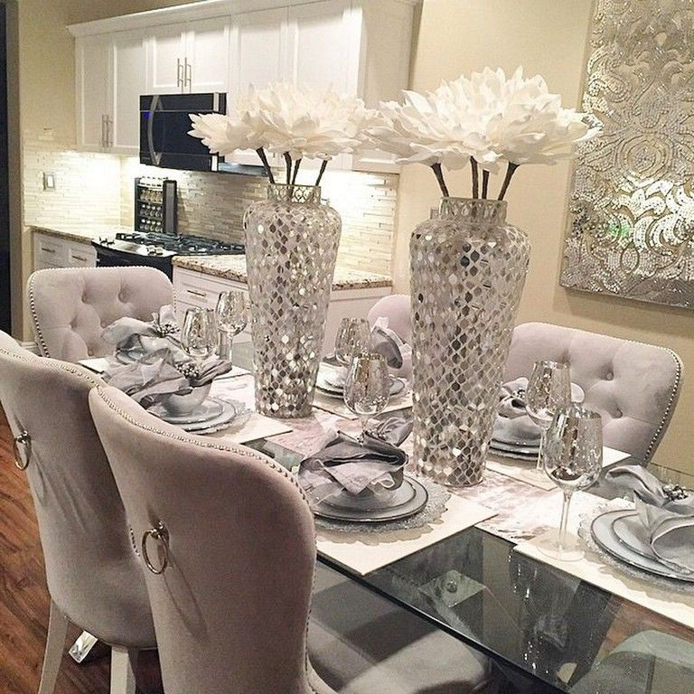 52 Best Diy Glam Decoration Tips And Trick You Can Steal Home Homedecor Homedesign Modern Dining Room Dinning Room Decor Luxury Dining Room