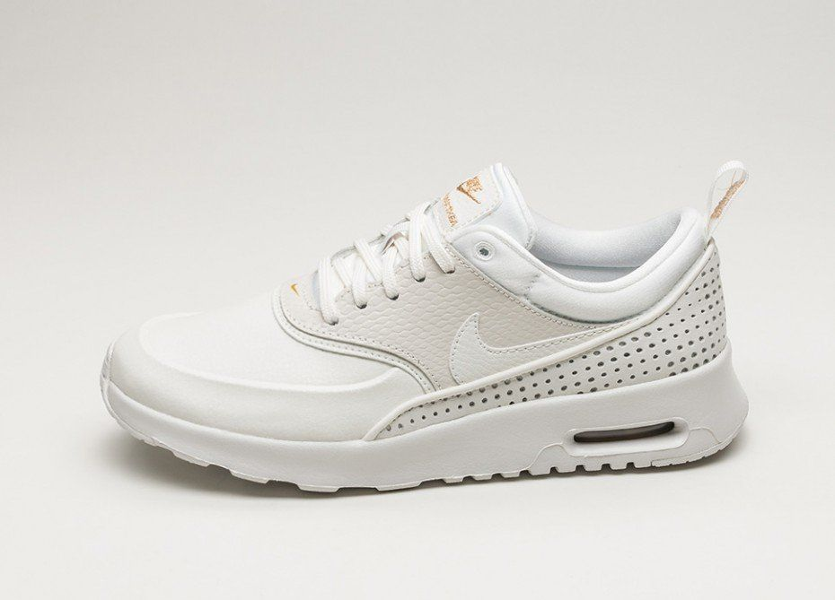 on sale 05e2d 2cede Nike Wmns Air Max Thea SE PRM  Beautiful x Powerful  (Summit White   Summit  White - Metallic Gold)