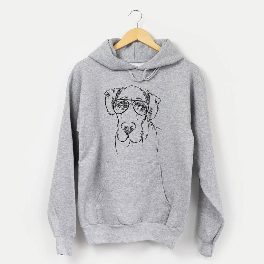 Titus The Great Dane Mens Hooded Sweatshirt Everything Great