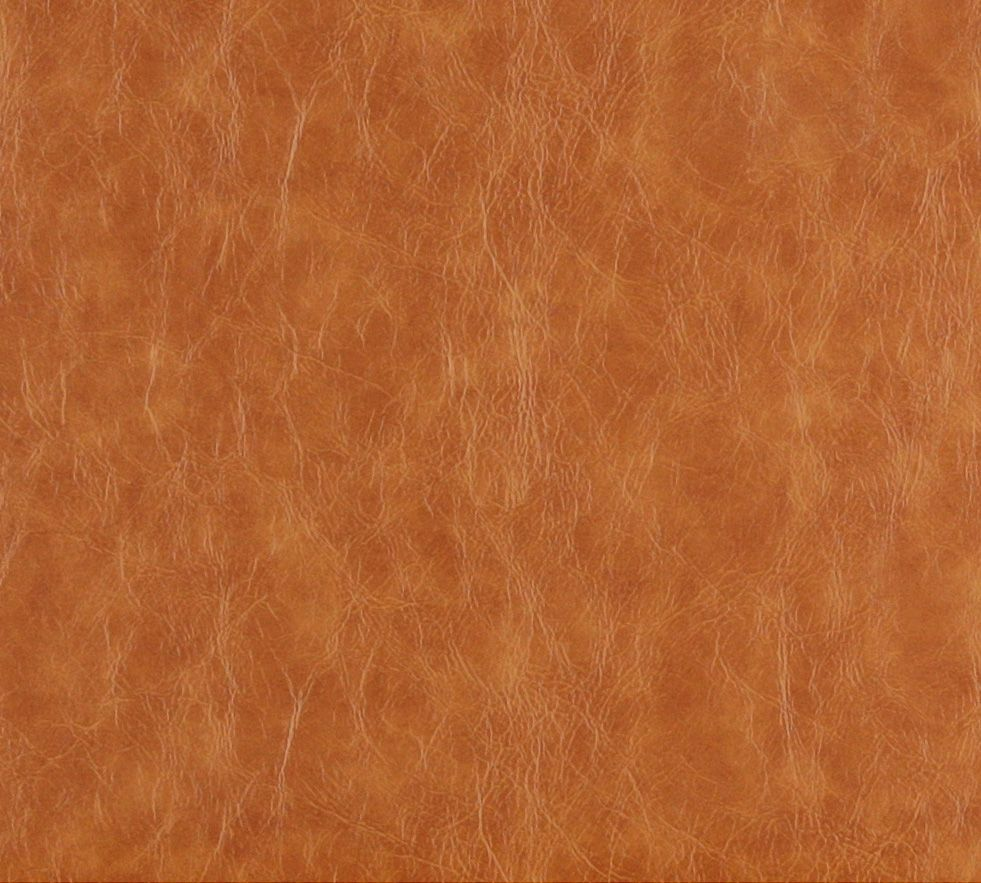 Saddle Brown And Beige Distressed Leather Hide Look Soft Vinyl