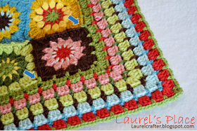 """Welcome! I am so happy to share with you a photo pattern tutorial for my """"Grandma's Knickknacks"""" blanket.           This is m..."""