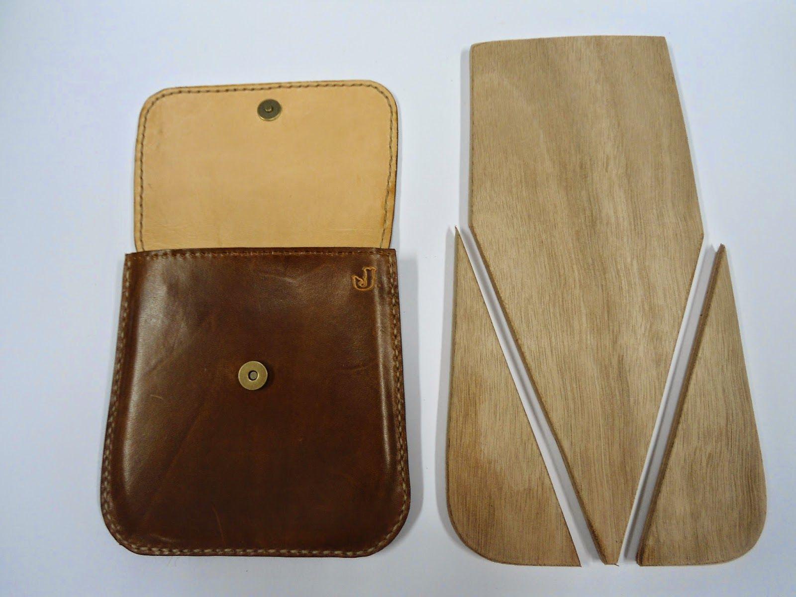 la ventana del cuero como hacer un bolso moldeado molde de tres piezas