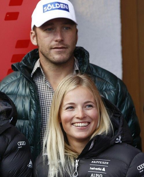 Lara Gut and Bode Miller