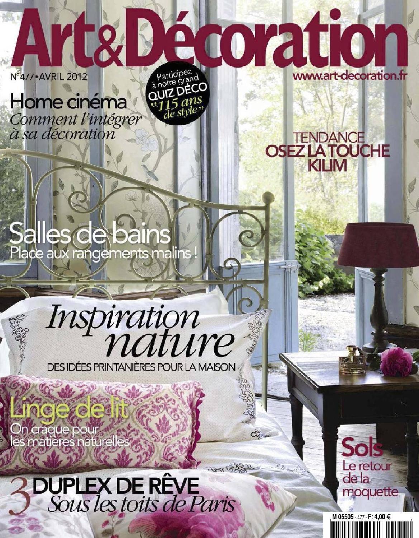 Art&Decoration n477 Art&Decoration magazin | Magazines | Pinterest ...