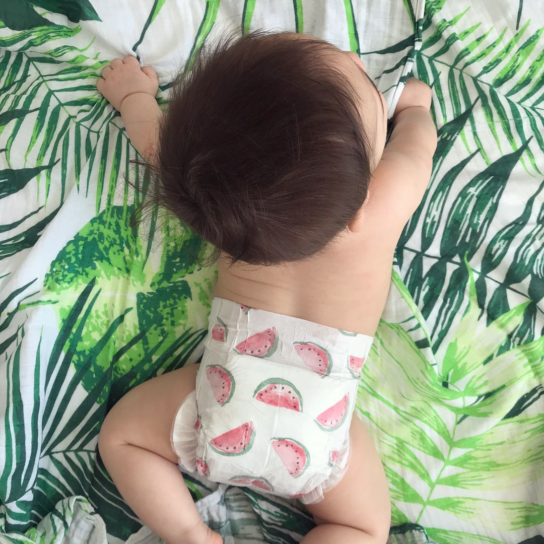 Joone Paris Watermelon Nappies Ethical Diapers Eco Friendly