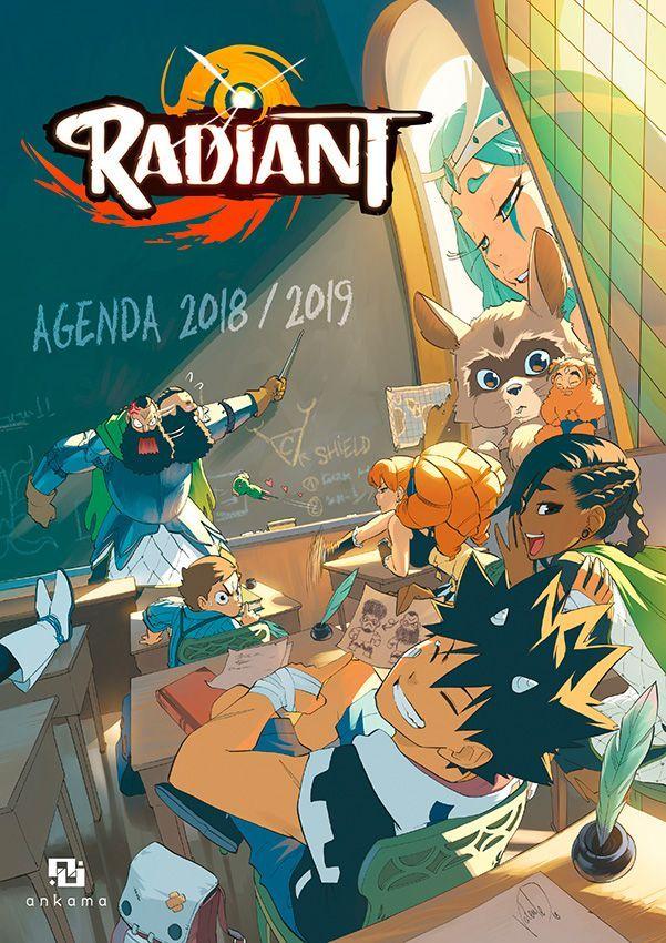 Radiant Agenda 2018 2019 Manga en 2020 Manga