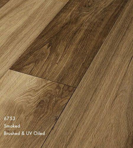 Furlong Majestic Oak Smoked Stained Engineered Wood Flooring Brushed
