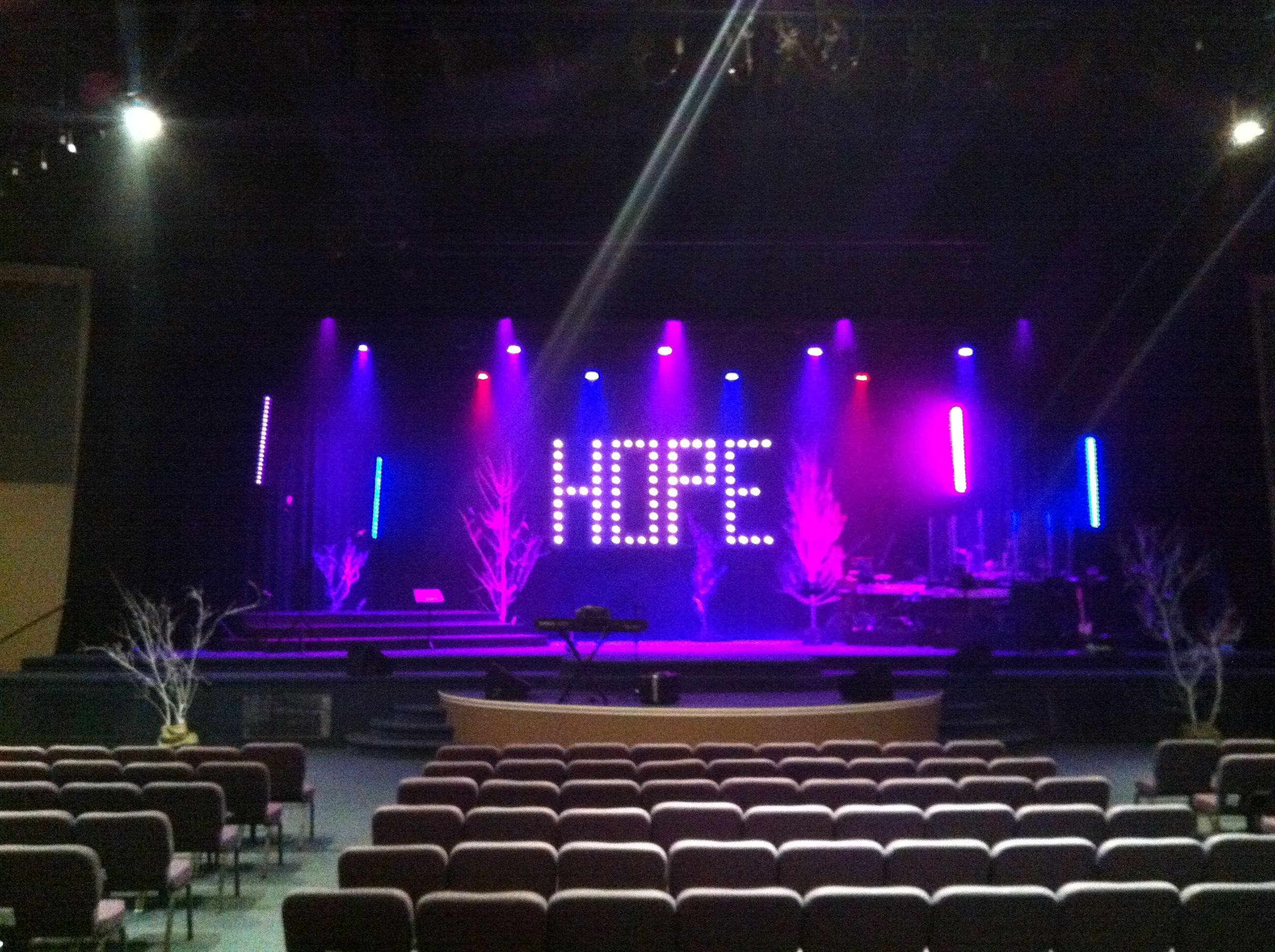 hope floats church stage design ideas - Church Stage Design Ideas