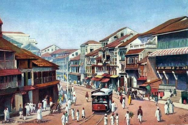 Postcards Of The Past Vintage Postcards Of Mumbai India Mumbai City Bombay Mumbai