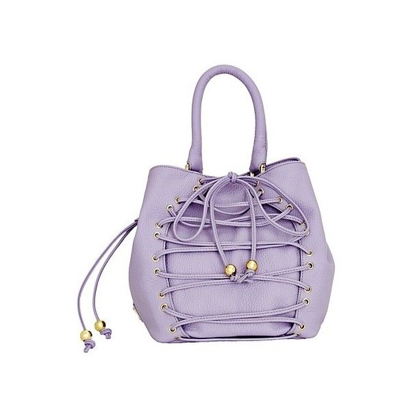 Hot Handbags ALEXANDER WANG Kirsten buckled suede bag ❤ liked on Polyvore featuring bags, handbags, purple suede handbag, suede bag, suede leather handbags, buckle handbags and buckle purses
