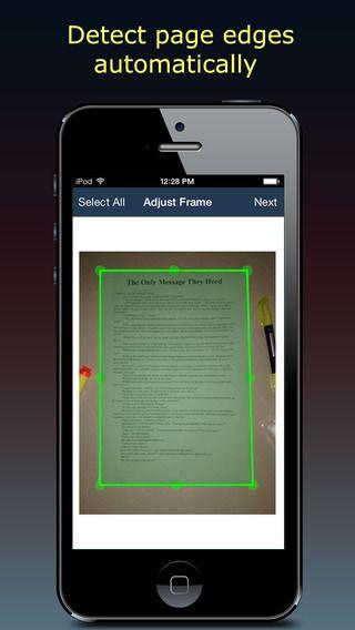 تطبيق الماسح الضوئي Fast Scanner على ايفون واندرويد Scanner Scan Iphone Games