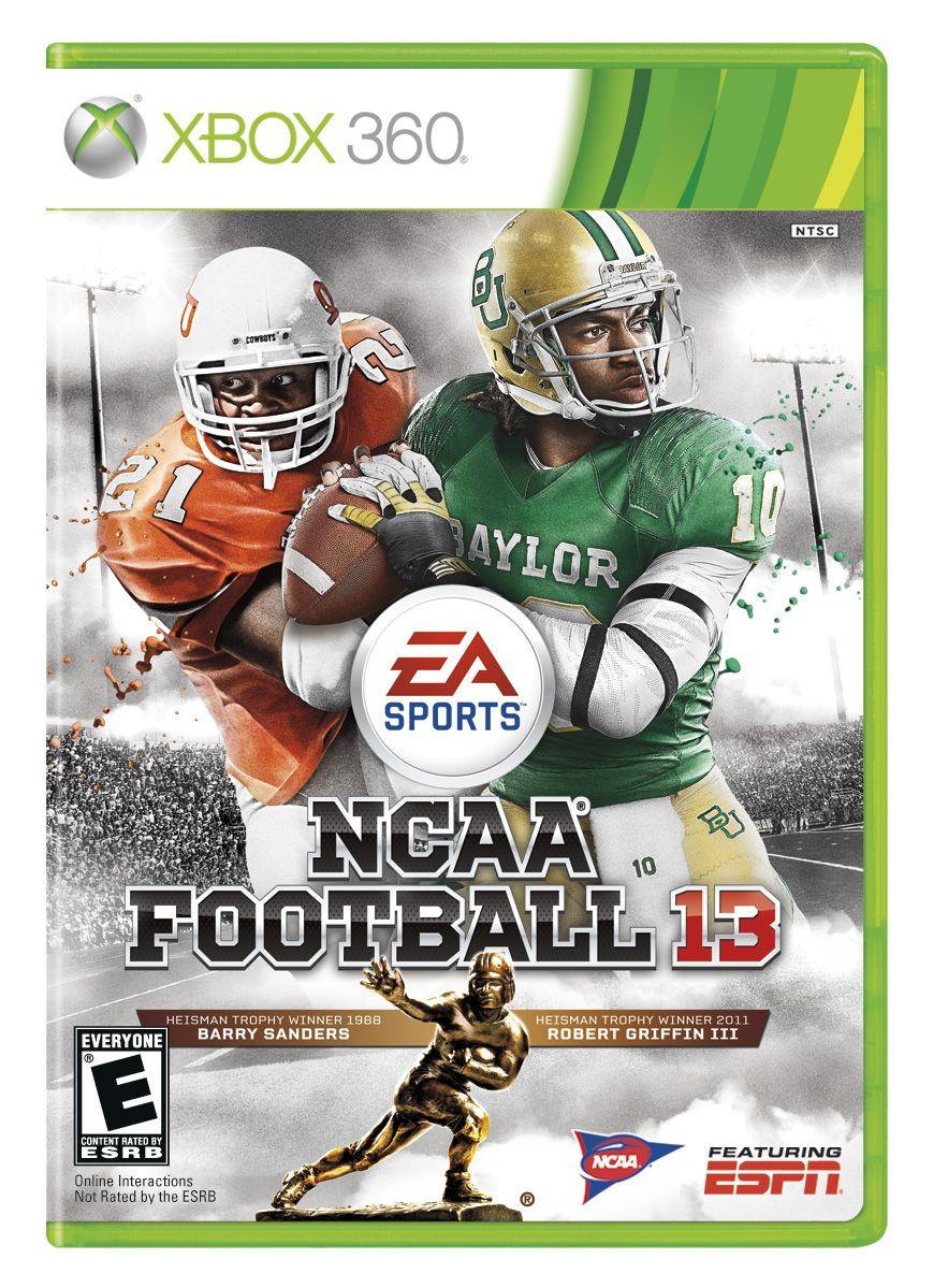 Ncaa Football 13 Box Art Xbox 360 Ncaa Football Griffin Iii