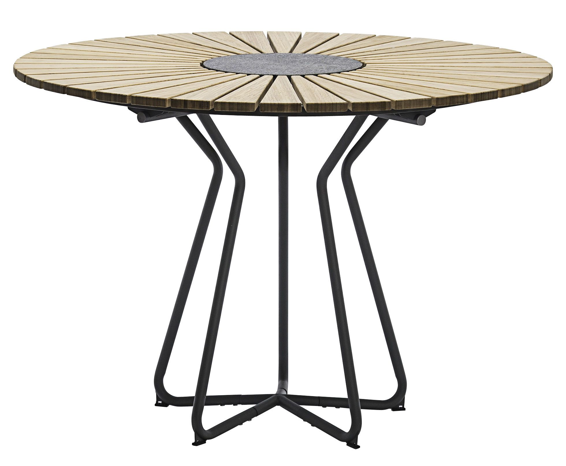 Houe Circle Round Table Grey Natural Wood Made In Design Uk Gartentisch Gartentisch Holz Gartentisch Rund Metall