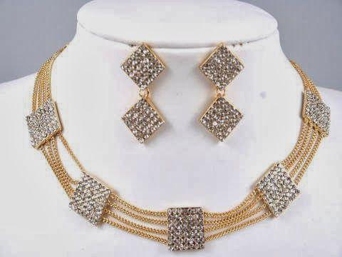 اطقم ذهب ناعمة 2014 Jewelry Beaded Necklace Women S Accessories