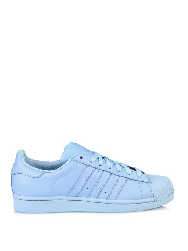 Superstar Supercolor leather trainers  7b692a9a4