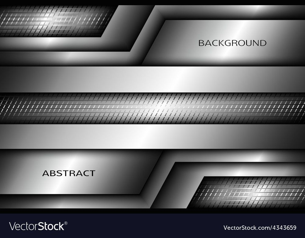 Abstract Metallic Background Vector Image On With Images