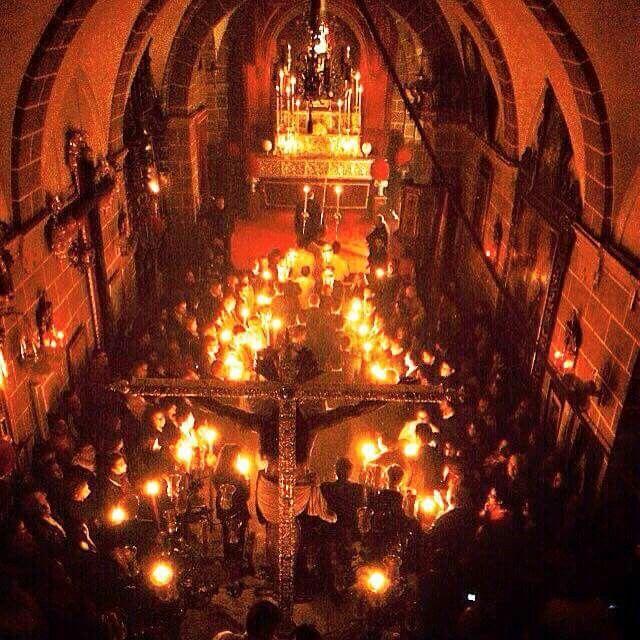 Semana Santa viacrucis El Cristo