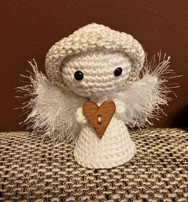 Engel Als Weihnachtsdeko White Angel Christmas Decoration