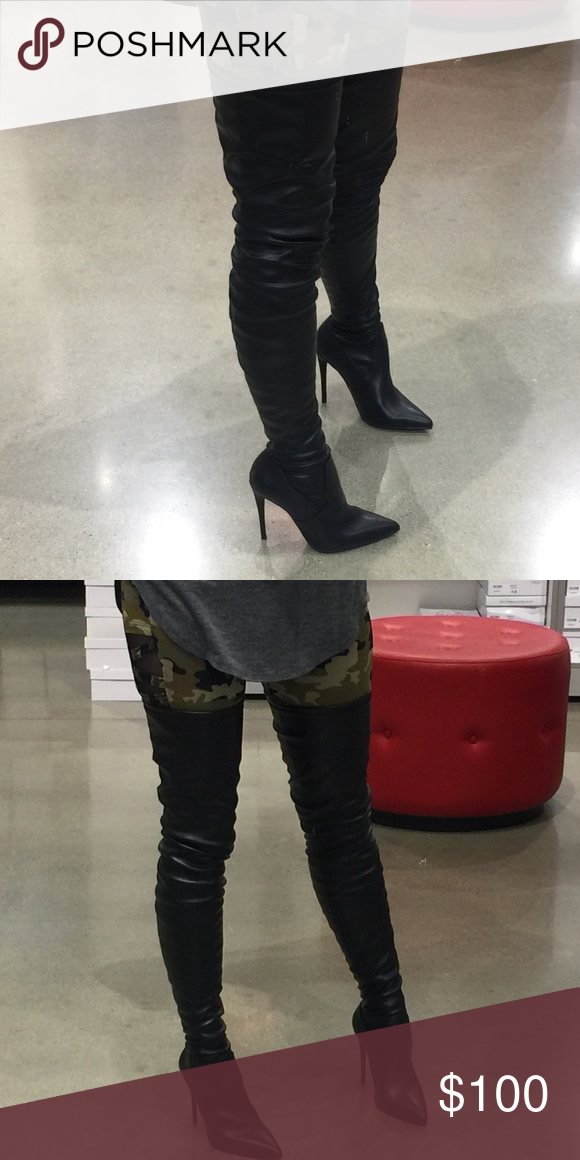 cf989cc8f04 Steve Madden Dominique Thigh high Boot Sold out in stores and online ...