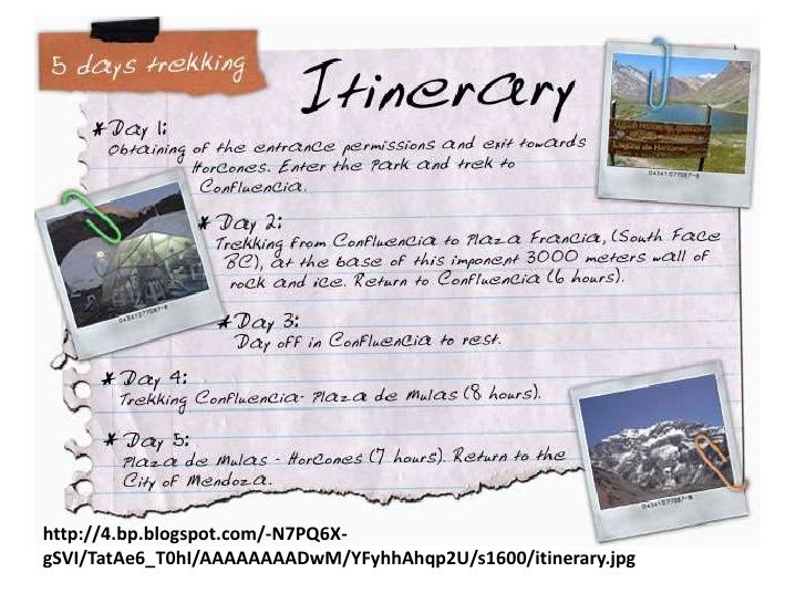 Travel Itinerary Lesson For Ebs Lesson Study 2012 | Travel