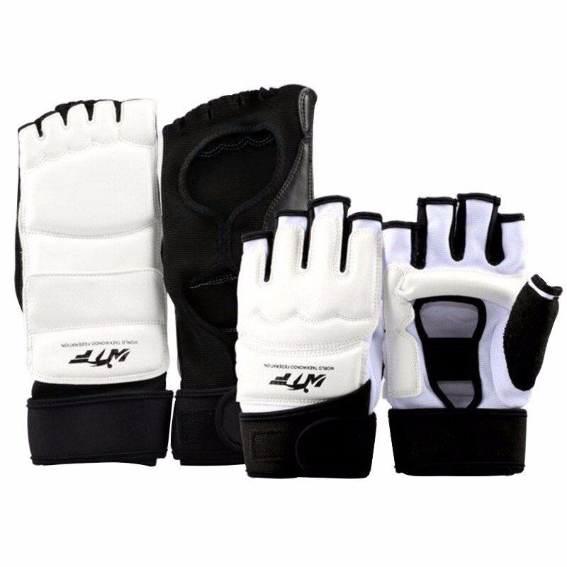 Breathable Kickboxing Training Karate TaeKwonDo Foot Hand  gloves Protector