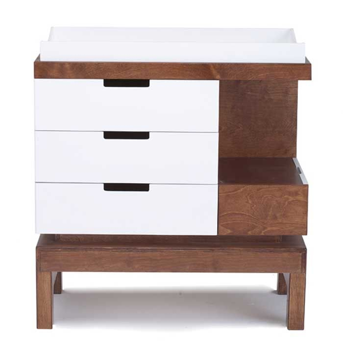 The Delphi changing table is one of the latest designs from Argington.