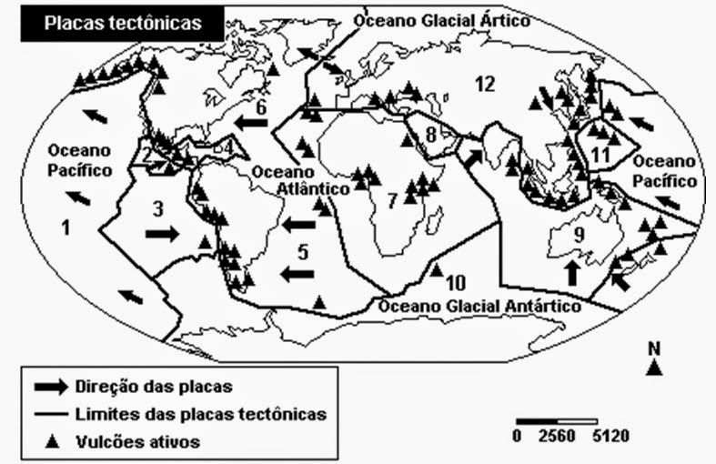 Resultado de imagem para imagens de placas tectonicas para colorir ...