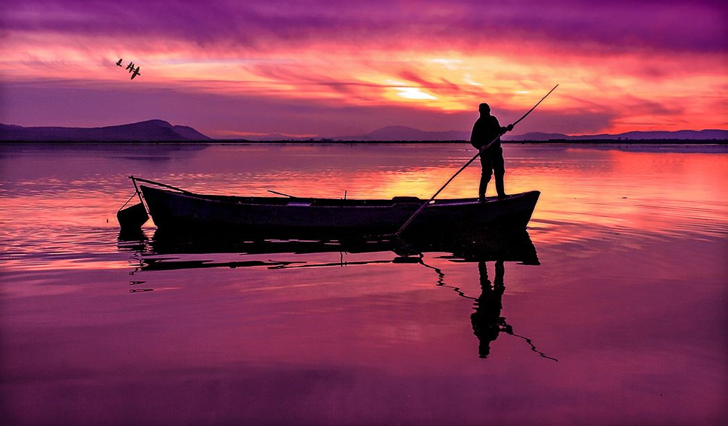 Evening on the lake... by Metin ALPDAG on 500px
