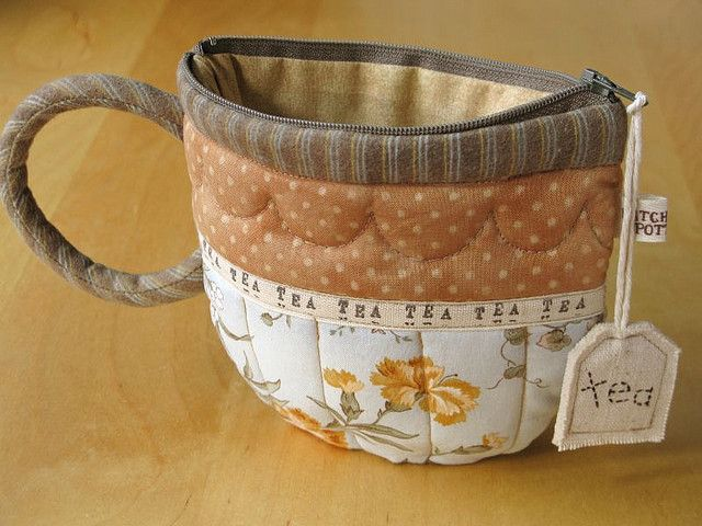 TeaCup pouch 91 | por PatchworkPottery