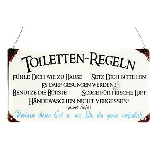 wc sprüche Türschild 9x9cm PIPI LOUNGE Toilette WC Holzschild Piktogramm  wc sprüche