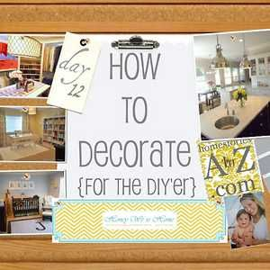 How to Decorate DIY...read later.