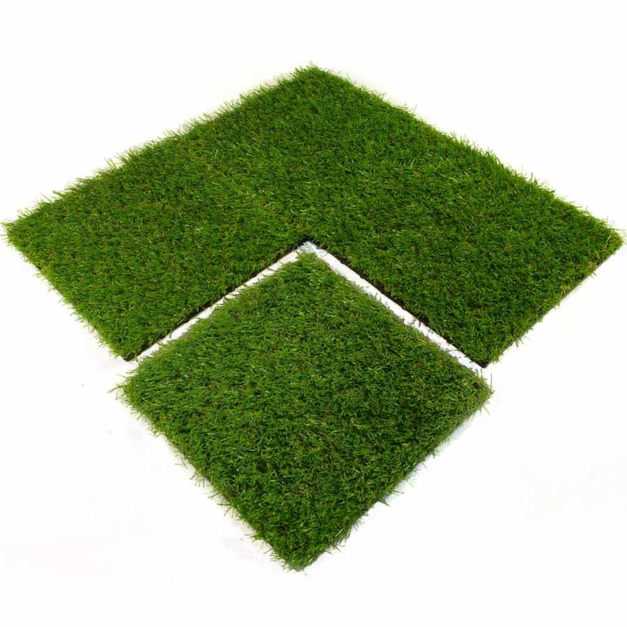 This Artificial Grass Turf Tile Is Designed For Outdoor