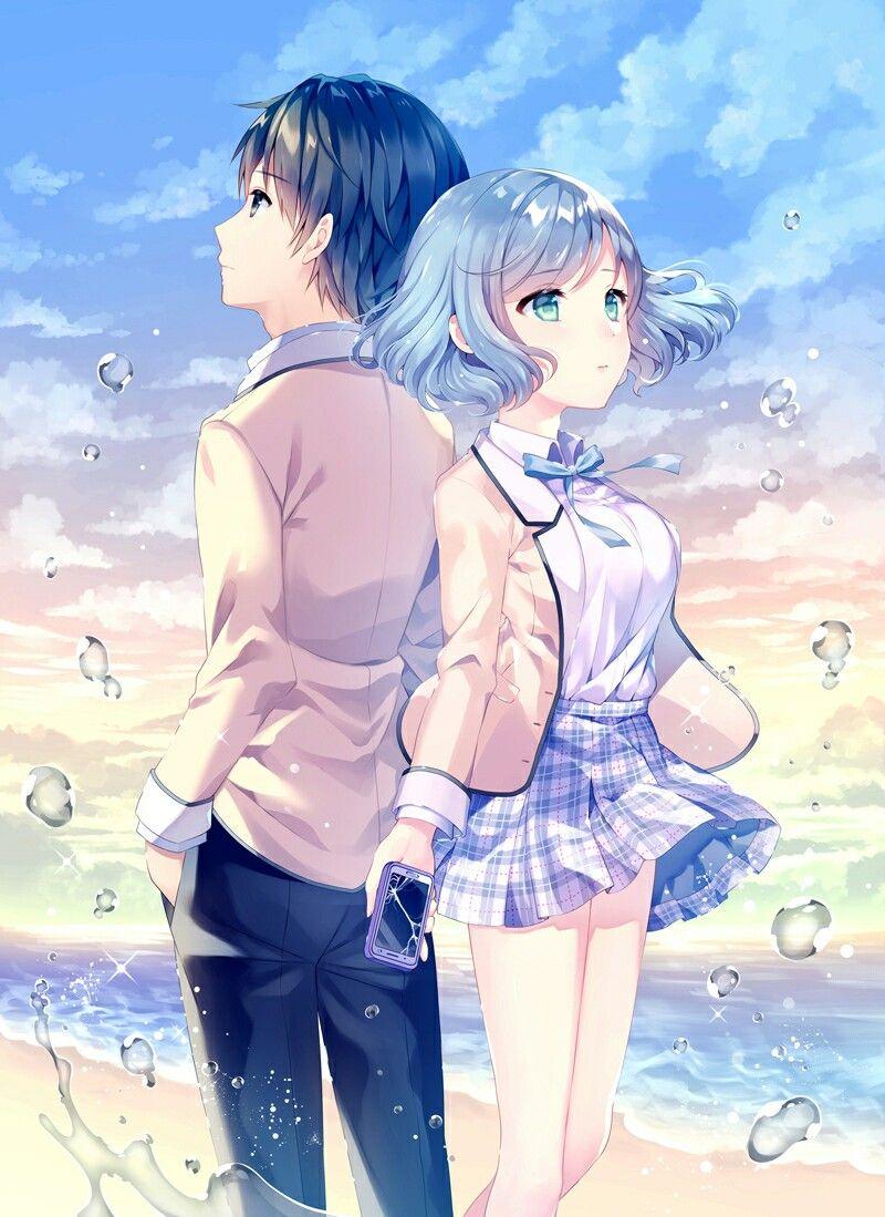 Anime Love Story Anime Love Kawaii Cute Kurdishotaku Art Couple Image أنمي رومانسي صور كاواي كيوت آرت أحبك Gadis Animasi Gadis Manga Gambar Manga