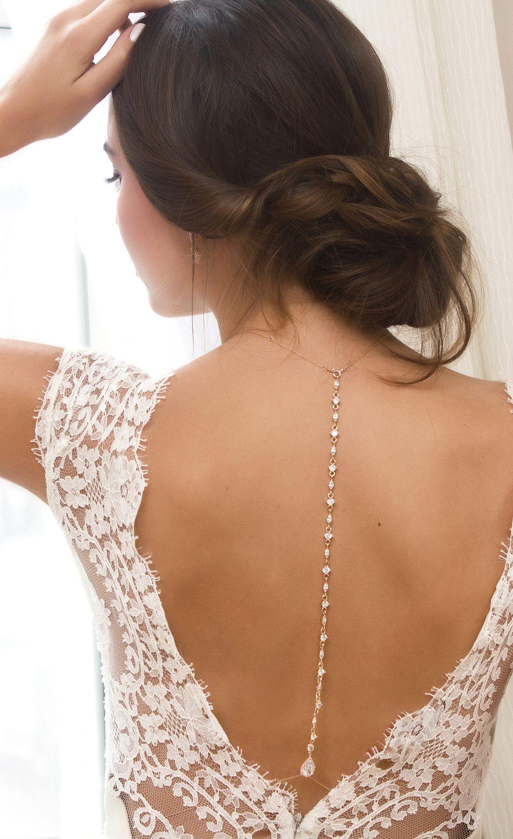 60 Wedding Necklaces Ideas For You | Brautschmuck, Hochzeitskleider ...