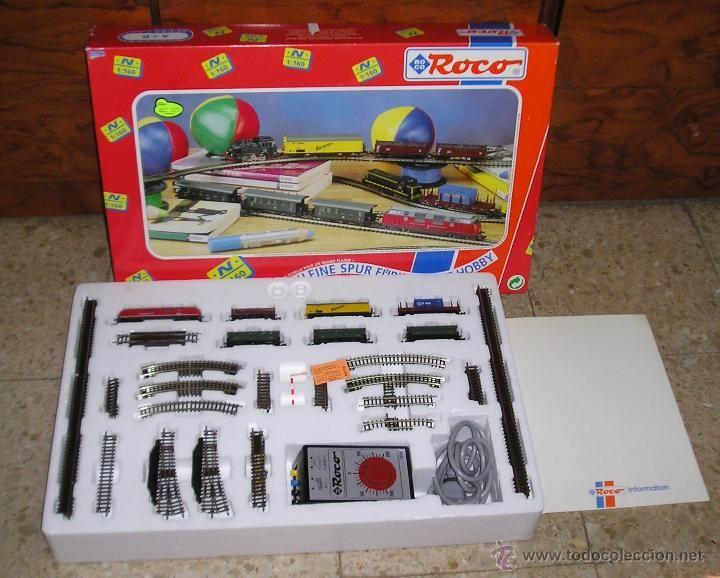 Caja tren Roco N 1:160 A B Ref. 21047