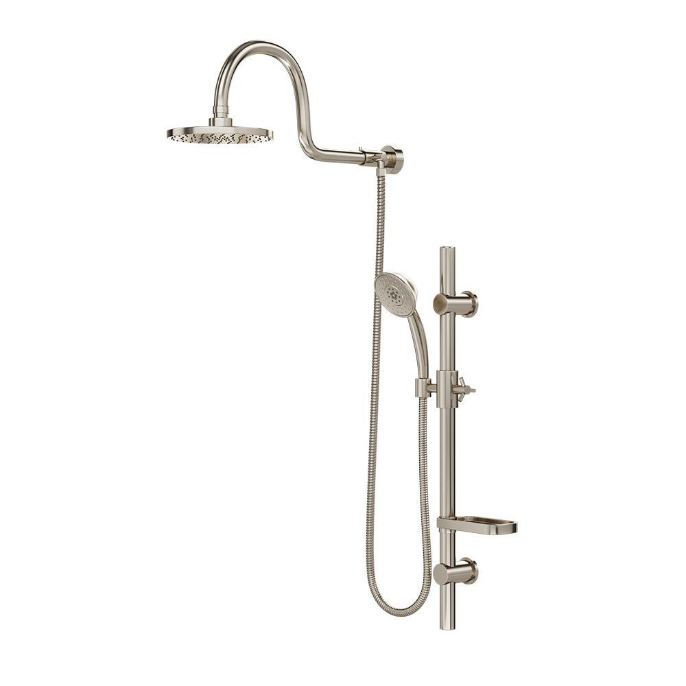 Pulse Showerspas Aquarain Retrofit Shower System With Hand Shower