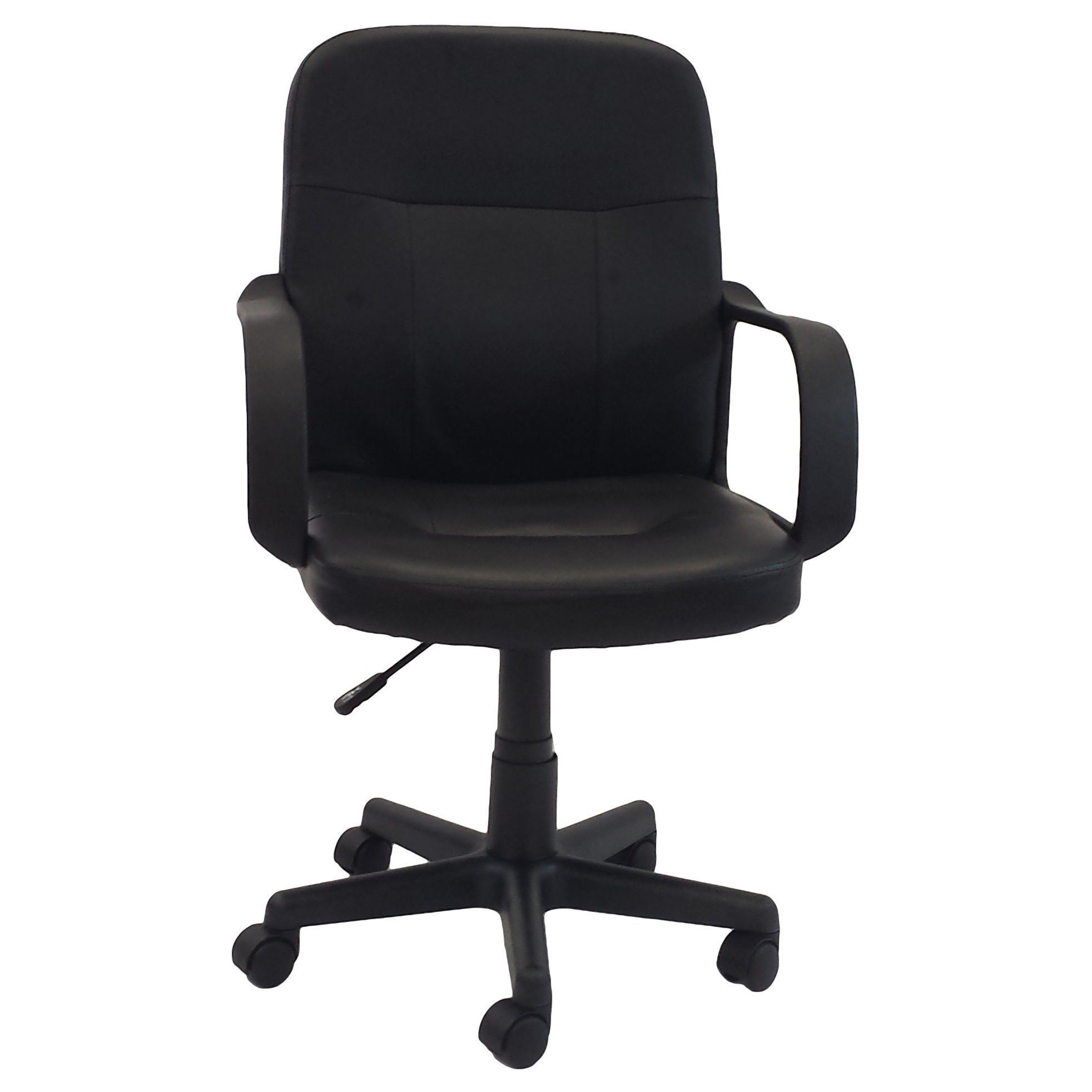 Black adjustable office chair great for both home and