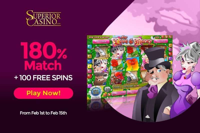 Casino.Com February Promotion