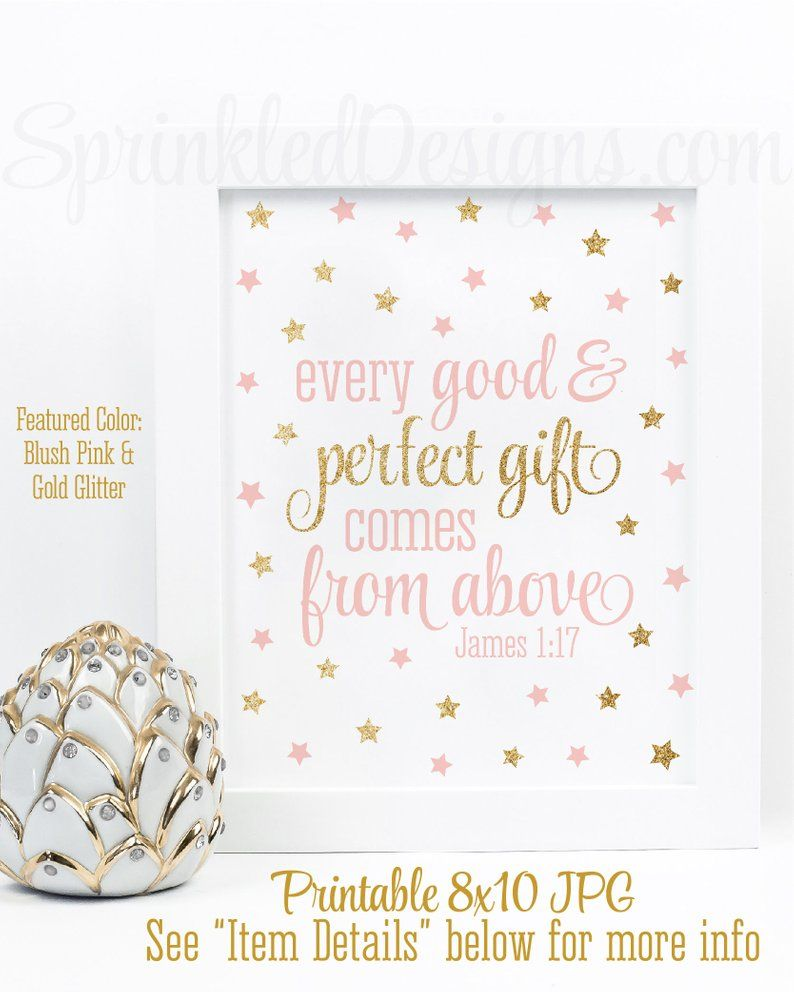 Every good perfect gift comes from above twinkle little